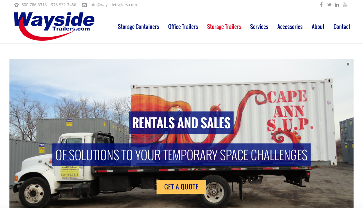 wayside homepage