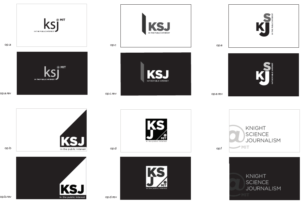 KSJ Logo Options
